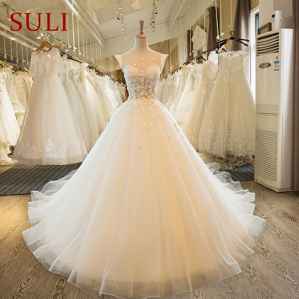 SL-67 Plusz méretű mellényes menyasszonyi menyasszonyi ruha Szexi esküvői ruha csipke 2017