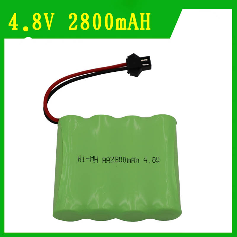 New Arrival AA rechargeable Battery Spare Part 4.8V 2800mAH NiMH Battery For RC Models Drone Remotr Control Battery RC parts new laptop battery for samsung 900x4d np900x4c np900x4b np900x4c a01 aa pbxn8ar