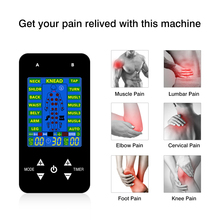 15 Modes Massage Tens Electric EMS Muscle Stimulation Unit Electroestimulador Pain Relief Machine With Electrodes