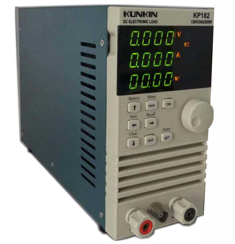KP182 DC Electronic Load Battery capacity tester Internal resistance tester Power tester 20A 200W intelligent alarm tester precision internal resistance tester battery voltage internal resistance rapid detection