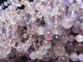 Freeshipping  (44 beads/lot/32g) natural 8-8.5mm super 7crystal smooth round european beads stone for jewelry making design