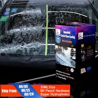 Rising Star RS A CCS02 Nanotech Crystal Glass Coating 30ml Kit For Demo Testing Water Repellent