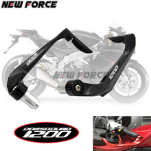 Universal 7/8 22mm Motorcycle Handlebar Brake Clutch Levers Protector Guard For Aprilia TUONO CAPANORD/DORSODURO 1200