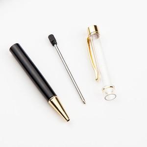 Image 4 - 10 pcs/lot Personalized Engraved Ballpoint Pen Creative DIY Handmade Ballpoint Pens Custom Logo Metal Empty Pen Wedding Gifts