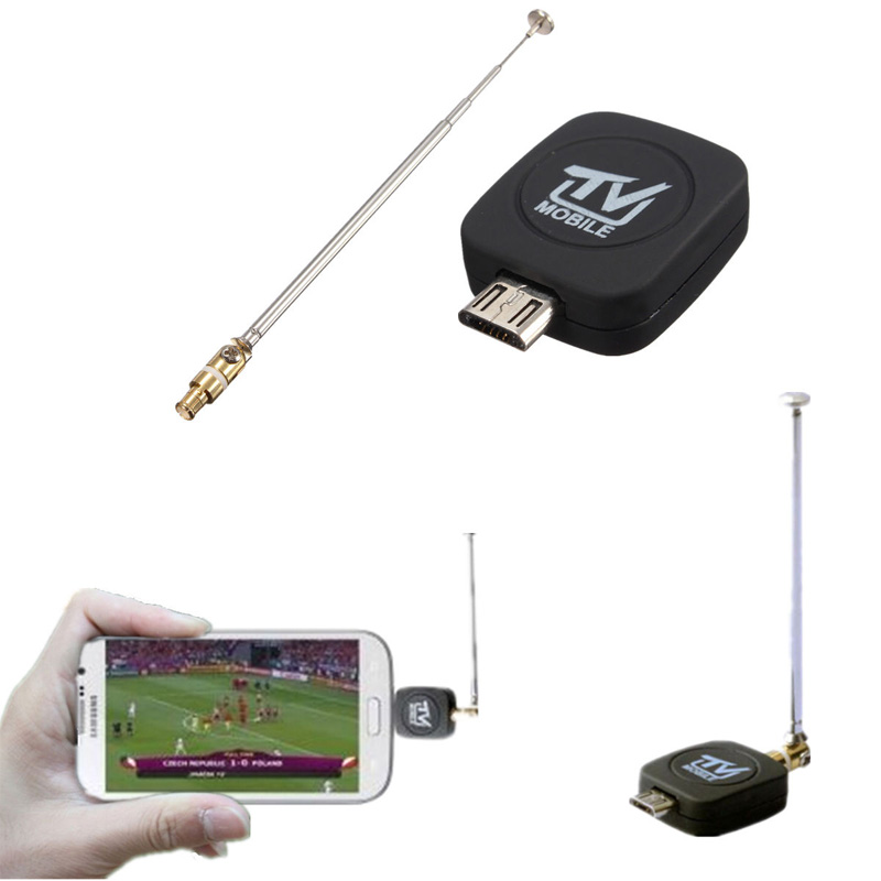 Micro USB DVB T Digital Mobile TV Tuner Stick Receiver For Android