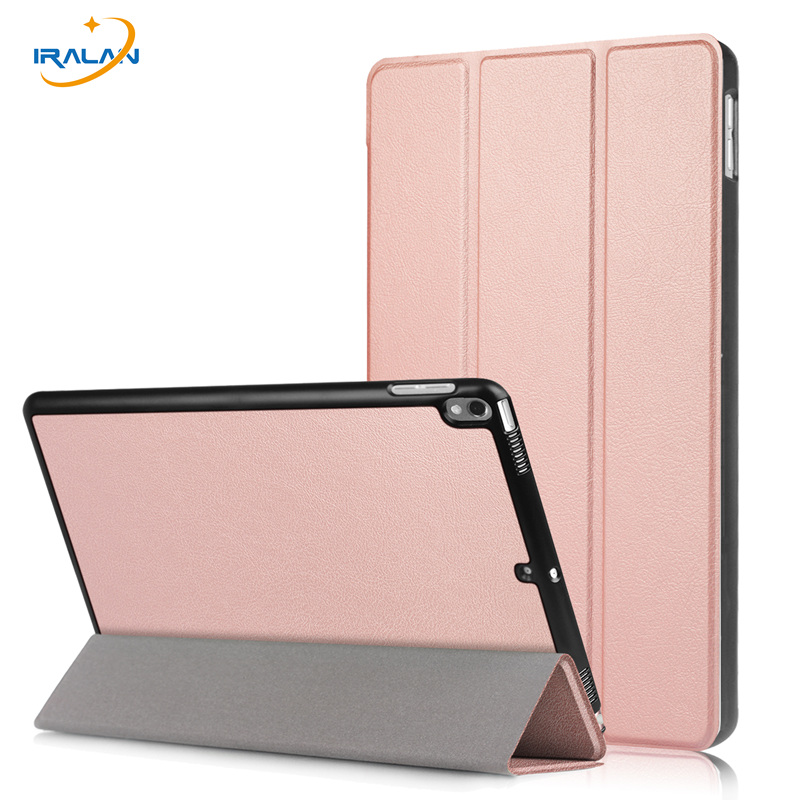 PU Leather Foldable Flip Case for Apple iPad Pro 10.5 2017 Tablet Cover for new iPad Pro 10.5 inch Smart Magnet shell+film+pen ultra thin smart flip pu leather cover for lenovo tab 2 a10 30 70f x30f x30m 10 1 tablet case screen protector stylus pen