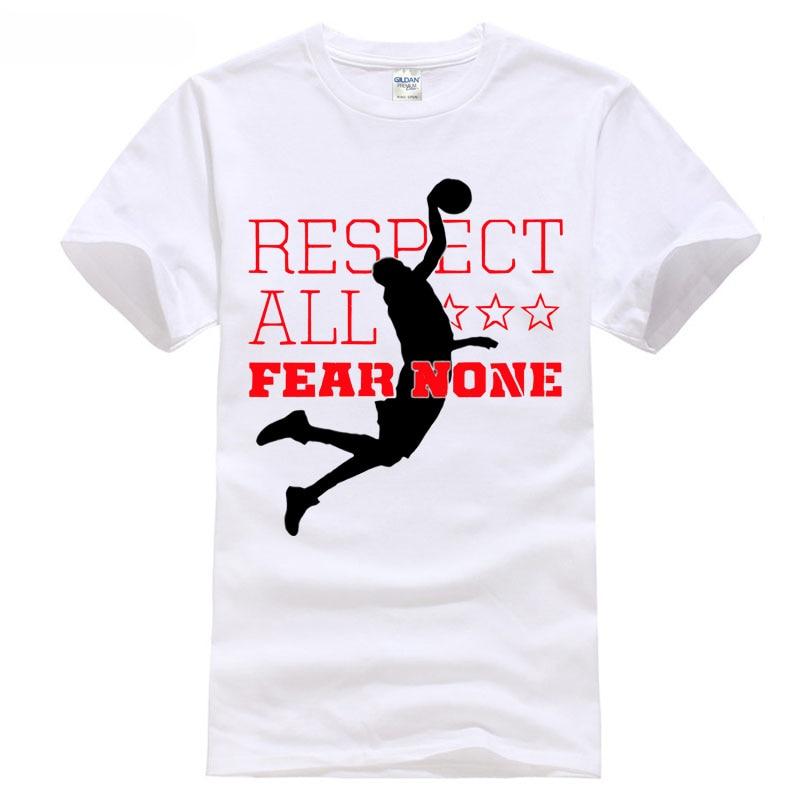 2018 playoff games Basketballer jamer Respect All Fear None 23 T Shirt tops