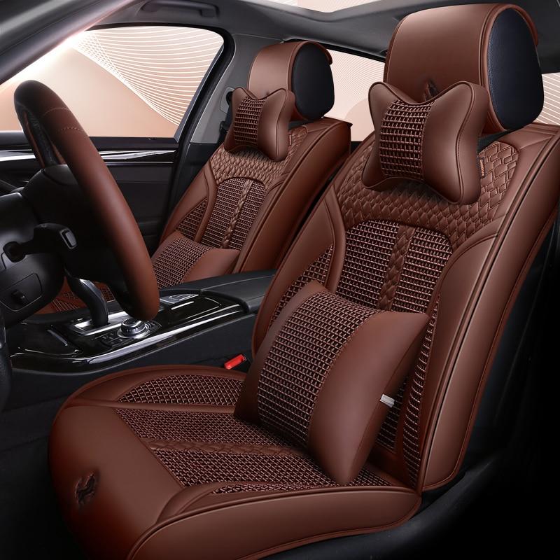 Seggiolino auto Copre auto-styling Auto Cuscini di Seduta Auto pad, copertura di sede auto cuscini Per Hyundai i30 ix35 ix25 Elantra Santa Fe Sonata Tucso
