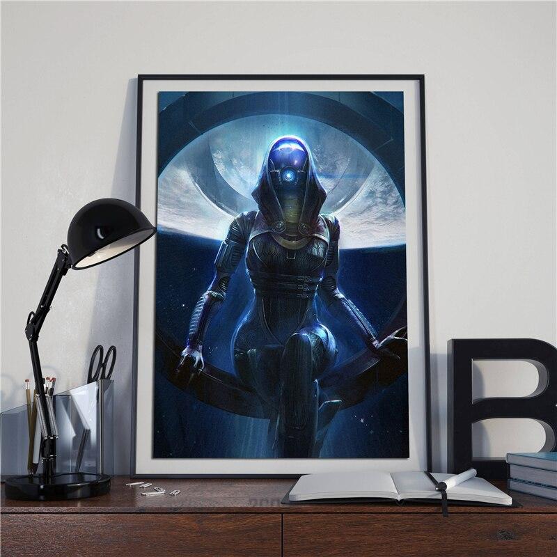 Mass Effect Tali Wallpaper Wall Art Canvas Posters Prints Painting