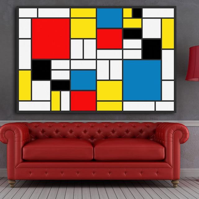 reliabli abstracte kunst canvas schilderij moderne prints poster