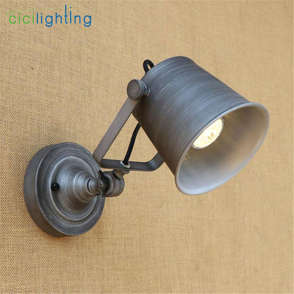 Industrial art decoration wall Sconce Lighting Bedside store shop ...