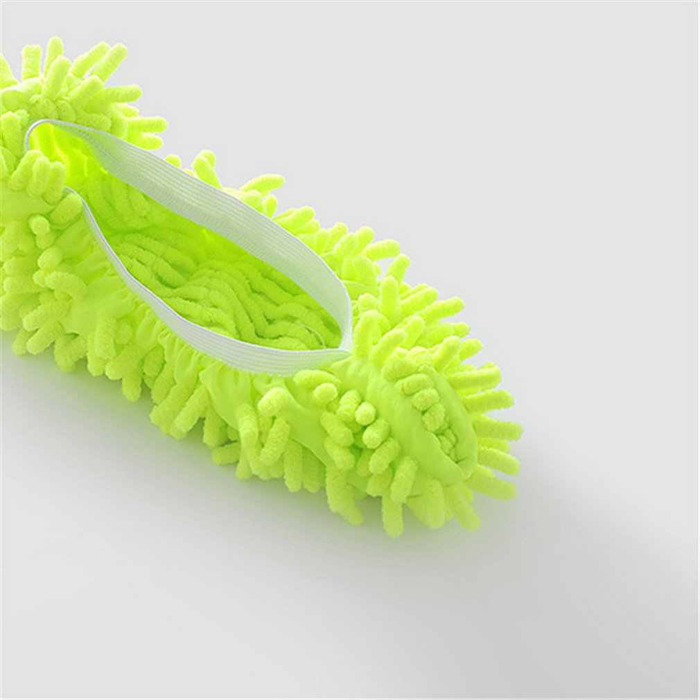 Plumero multifunción zapatillas mopa zapatos cubierta lavable reutilizable microfibra pie calcetines suelo Herramientas de limpieza cubierta del zapato