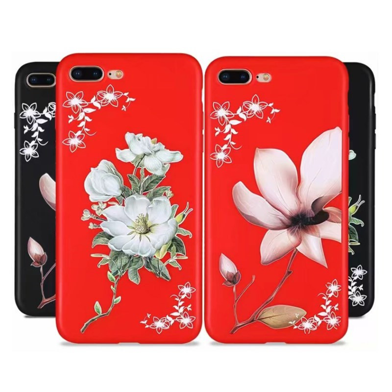 100% Quality For Xiaomi Mi A2 Lite 6x 5x A1 8 Se Max 3 Flower Diamond Case On Redmi Note 4x 4 5 5a 6 Pro Redmi 6a Redmi 5 Plus S2 Cover Capas Clear-Cut Texture