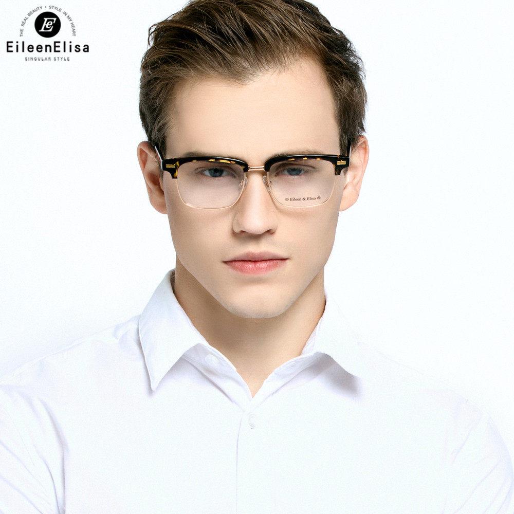 d1c56d48ee EE Gentleman Optical Glasses Frame Retro Optical Glasses Women Reading  Eyeglasses Spectacle Frame Half-frame