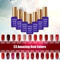 Sexy Mix UV Gelnail Lak Lacas de Uñas de Gel de Color Rojo 15 ml Esmaltes Sunrim Aerosol 3D Uñas de Gel Gel de Uñas Ongle Permanentes en geles