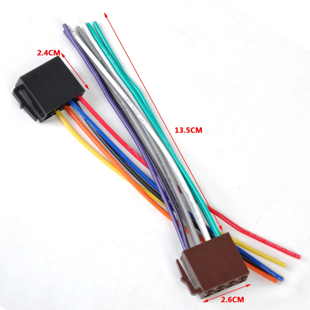 online get cheap toyota wire connectors aliexpress com alibaba universal iso radio wire harness female adapter connector cable for car stereo system for mercedes bmw