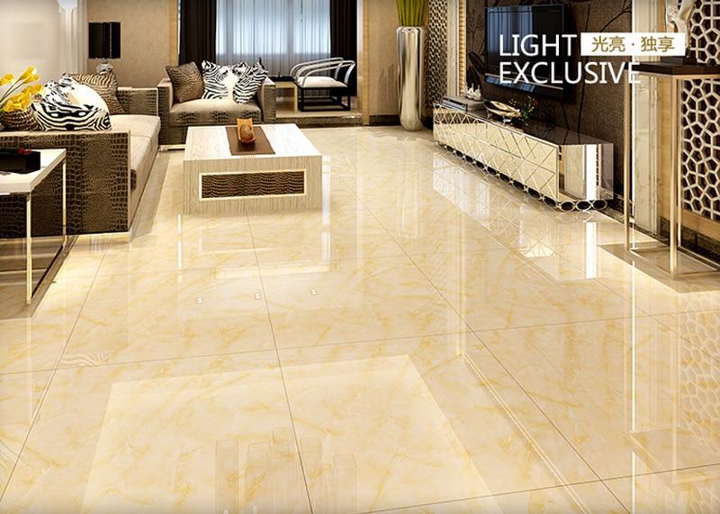 Free shipping 800*800 Foshan prevent slippery floor yellow ...