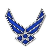 DSYCAR 3D Metal US Air Force Car Sticker Logo Emblem Badge Car Styling For Fiat Bmw