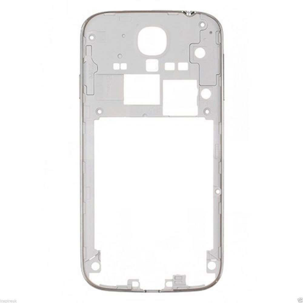 Rear S4 Middle Frame For Samsung Galaxy S4 I9505 I9500 I9506 I337 Mid Plate Bezel Housing Sliver/Gold With Power Volume Key
