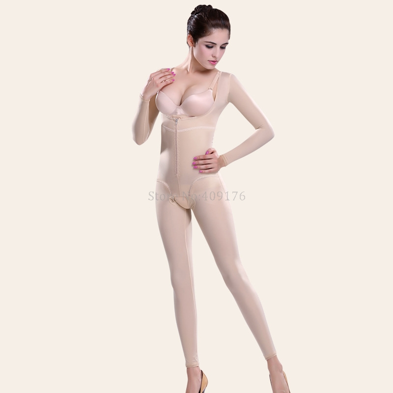 2f2e61c81 PRAYGER Women Slimming Full Body Shapers Recovery Compression Control  Abdomen Bodysuits Lift Chest Thigh Slimmer Long Shapewear-in Control  Panties from ...