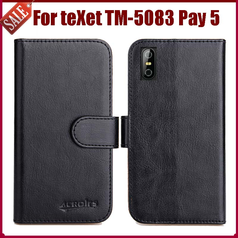 Hot Sale! <font><b>teXet</b></font> <font><b>TM</b></font>-<font><b>5083</b></font> Pay 5 Case New Arrival 6 Colors High Quality Flip Leather Protective Cover For <font><b>teXet</b></font> <font><b>TM</b></font>-<font><b>5083</b></font> Pay 5 Case image