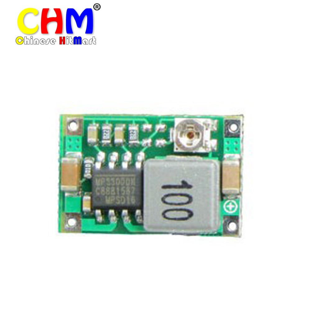 5pcs RC Airplane Module Mini 360 DC-DC Step Down Module Buck Converter 4.75V-23V to 1V-17V 17x11x3.8mm new LM2596