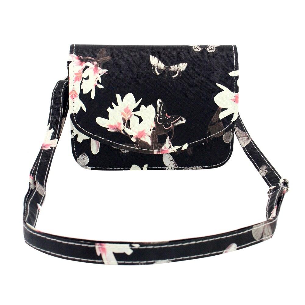 moda floral imprimir mulheres bolsa Tipo de Bolsa : Bolsas Mensageiro