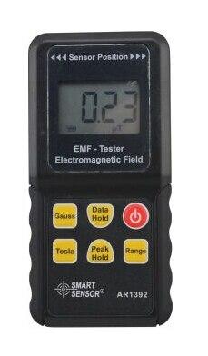 AR1392 EMF Detector Meter Electromagnetic Field Radiation Meter Milligauss Meter 0~2000mG,0~200uT Perfect replacement TM1390 tes 1390 electrosmog meter emf meter