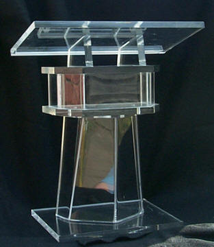 Free Shipping Beautiful Easy Cheap Clear Detachable Acrylic Podium Pulpit Lectern Acrylic Pulpit Plexiglass