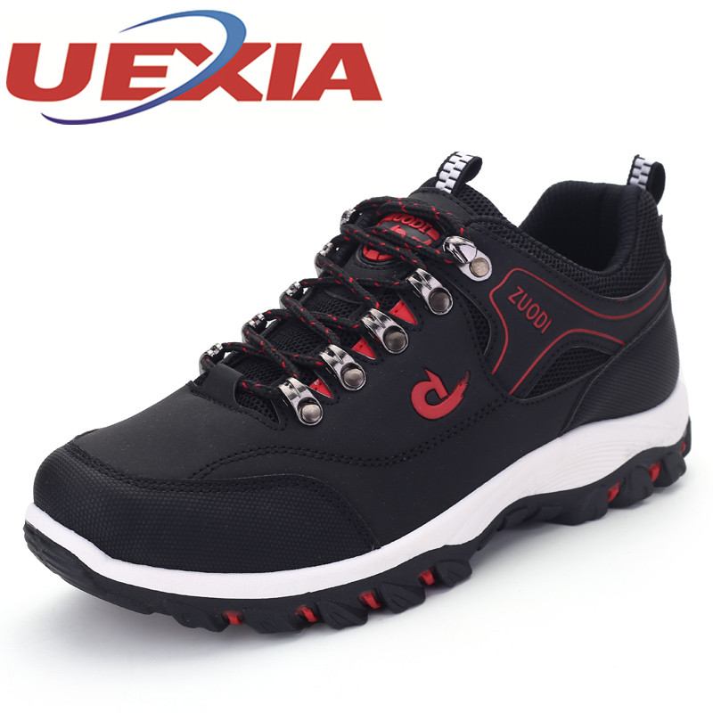 39-47 Spring Autumn Men Casual Shoes Breathable Shoes Mens Plus Size PU Leather Sneakers Rubber Outdoor Sport Lace-up Footwear fabrecandy high quality men casual shoes autumn mesh lovers shoes light weight breathable men shoes sneakers plus size 35 47