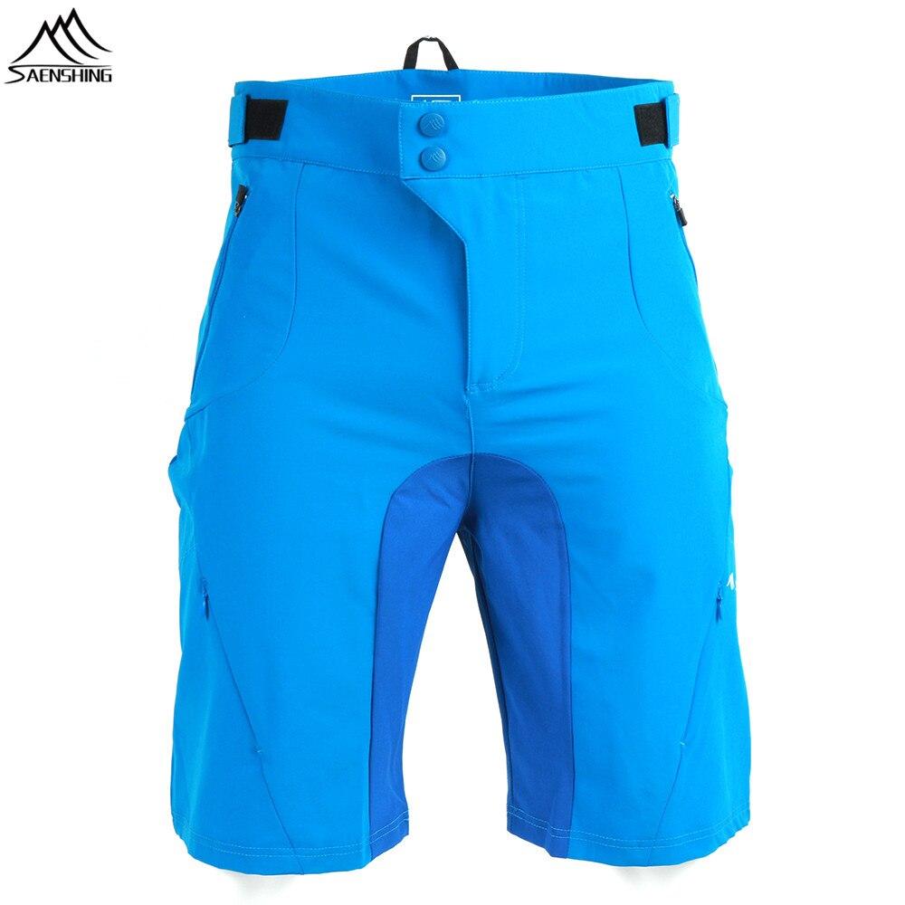SAENSHING Brand Downhill Mtb Shorts Men Breathable Cycling Shorts Summer Bicycle Mountain Bike Shorts Male Short Vtt Size S-XXL