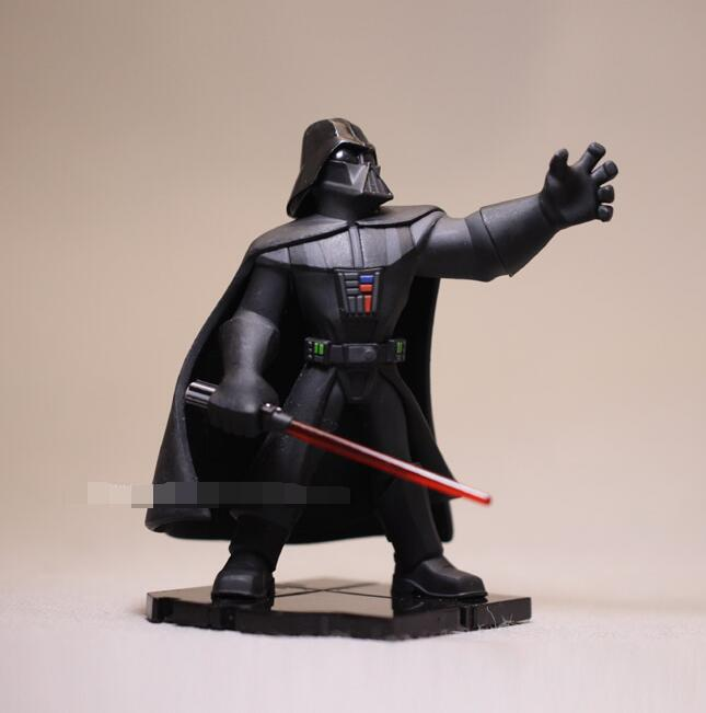 high quality Star Wars figure toys Darth Vader Luke Skywalker Princess Leia Figures Toy Model Doll for collection gifts 8-10cm