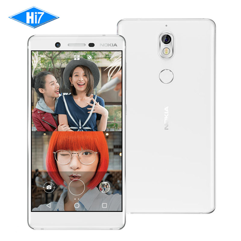 New Original Nokia 7 16MP Camera 64G ROM Dual Sim Cards 5.2 inch Octa Core 4G LTE 3000mAh Android 7.1 1080P Smart Mobile Phone