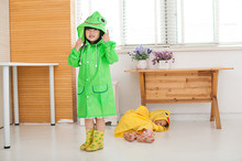 Funny Rain Coat Kids children Raincoat Rainwear/Rainsuit,Kids Waterproof poncho Animal Raincoat