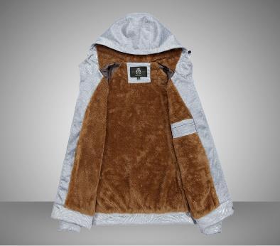 Hoodie dos homens casaco grosso - 5