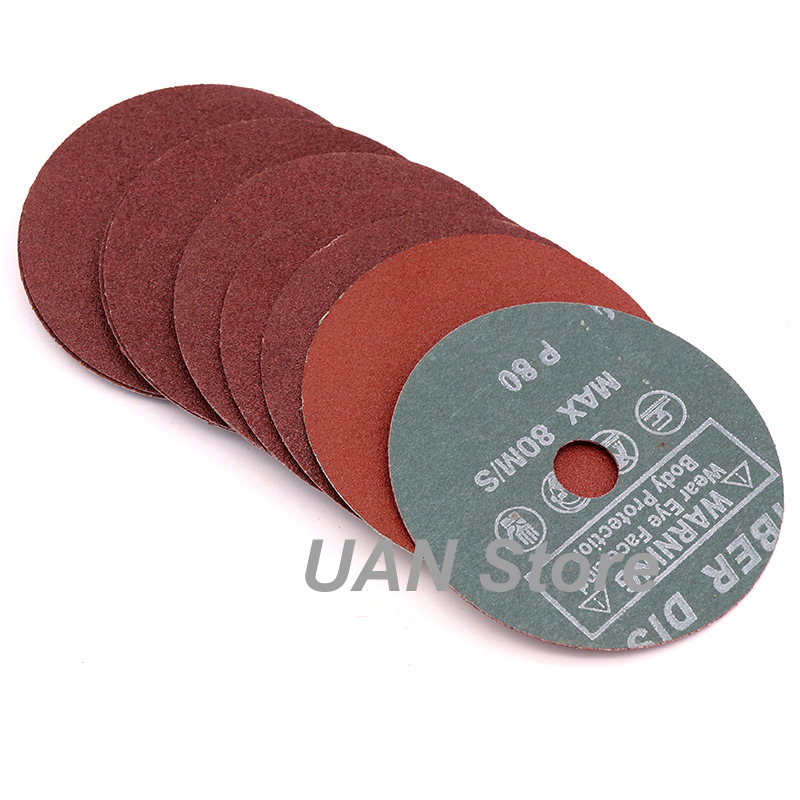 4 Inch 100mm Steel Grinding Disc Angle Grinder Sandpaper Root Carving Polishing Metal Polishing Disks