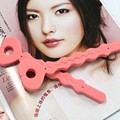 Fashion 6Pcs Pink Soft Hair Curler Sponge Spiral Curls Roller DIY Salon Tools