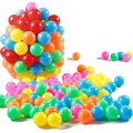 100pcs/lot Eco-Friendly Colorful Soft Plastic Water Pool Ocean Wave Ball Baby Funny Toys Ball Stress Air Ball Outdoor Fun Sports