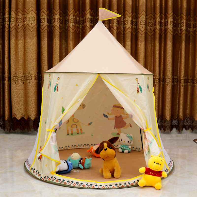Kids Play Tent Dome House Princess Castle Game Bed Indoor Indian Style Room Playground