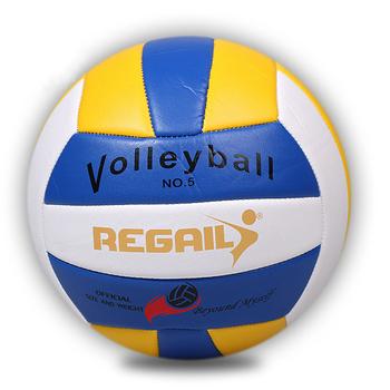 Hot sprzedaży 2018 nowy marka miękkie dotyku siatkówki rozmiar 5 mecz jakości siatkówka PU balon siatkówka niebieski żółty czerwony żółty tanie i dobre opinie Piłka NoEnName_Null RVB-002 NO 5 Blue White Yellow Red Yellow White