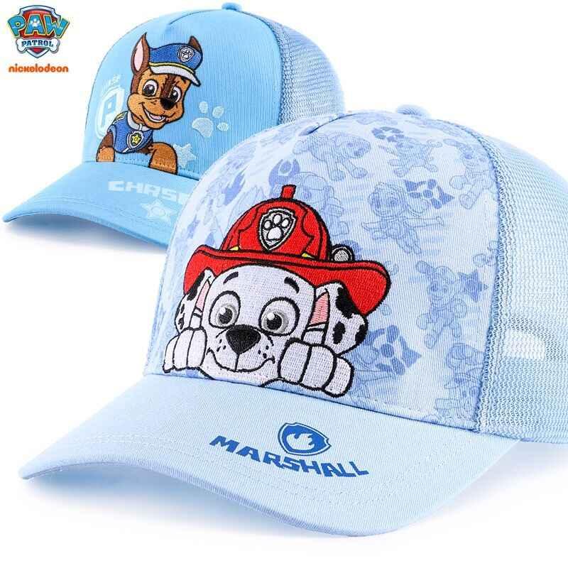 Подлинная лапа патруль 2019 новая весна лето осень плоская кепка Дети Мода солнце шляпа Детская игрушка подарок на день рождения Рождество Высокое качество