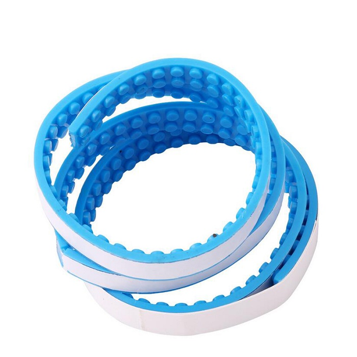1.6*92 CM 2*115 Dots Adhesive Plastic Tape Kids Adults DIY Building Blocks Base Plate Sticky Backing For Legoing Tape Toy Hobby