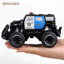 1 43 Plastic RC mini Hummer Off road buggy rc electric Car Model Toy with Remote