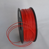Red color 3d printer filament PLA/ABS 1.75mm/3mm 1KG wholesale price by DHL and Fedex IE Free Shipping