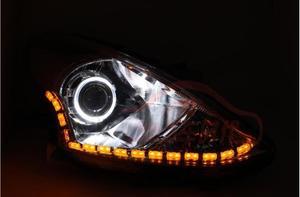 Image 5 - Sunny scheinwerfer, 2011 ~ 2013/2014 ~ 2017, Sunny nebel licht, HID xenon, Versa, Sentra, 2 stücke, Sunny rücklicht, auto zubehör, Sunny kopf licht
