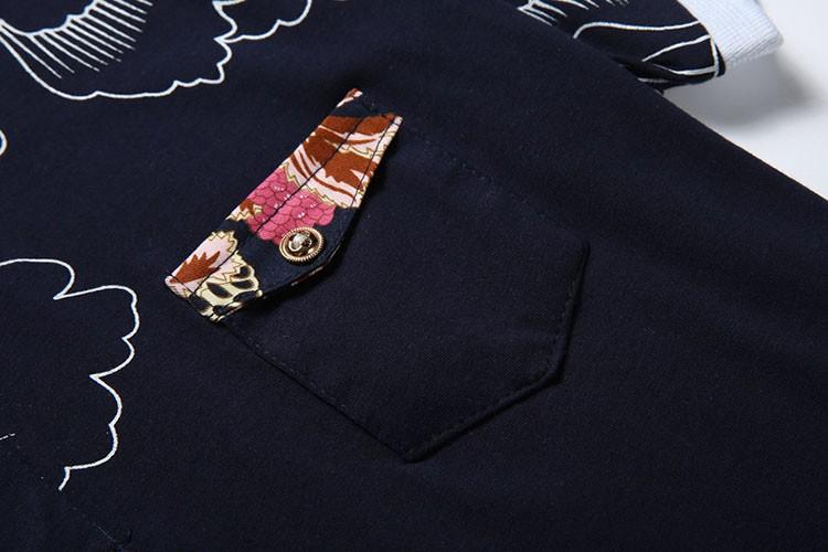Men Polo Shirt Fashion Printed Business Mens Polo 2016 Casual Short Sleeved Sports Golf Tennis Cotton Polo Camisa Plus Size 3XL (1)