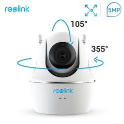 Reolink Baby Monitor WiFi Camera 4MP/5MP 2.4G/5G Full HD Pan/Tilt/3x Optical Zoom Indoor Home Security C2 Pro-5MP