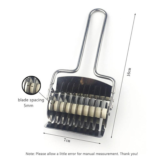 Pressing Machine  Non-slip Handle Kitchen Gadgets Spaetzle Makers Noodles Cut Knife 1PC Manual Section Shallot Cutter 5