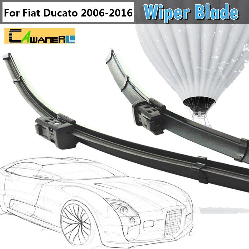 For Fiat Ducato 2006 2016 Auto Rain Soft Rubber Windshield Wiper Blades Car Wiper Blade 2Pcs