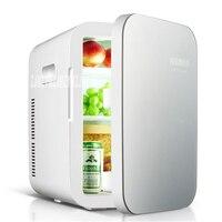 Refrigerador portátil Mini multifunción para coche  12 V 20L  refrigerador de viaje automático  calidad ABS  enfriador y calentador térmico para el hogar